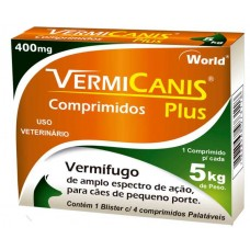 7005 - VERMICANIS 400MG(5KG) CART.C/04 COMP.
